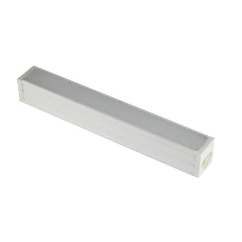 maxlite max lite 9 light led white cabinet light bar