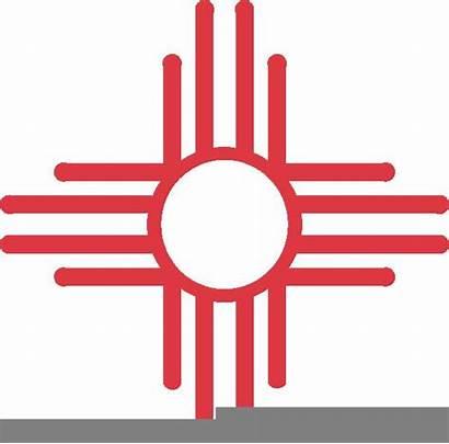 Zia Symbol Mexico Sun Clipart Symbols Southwest