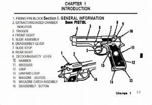 Operator U2019s Manual Pistol Semiautomatic  9mm  M9  Army Tm 9