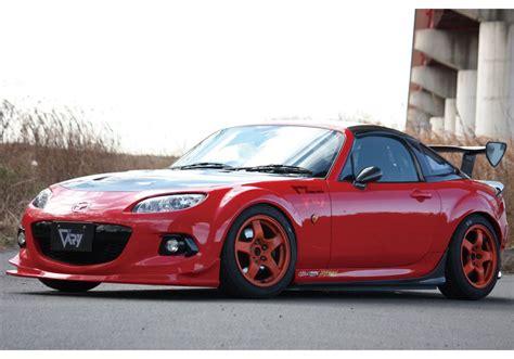 Miata Garage by Garage Vary Racing Gt Wing For Mazda Miata Mx5 Nc Rev9