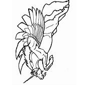Unicorns 6 Fantasy Coloring Pages & Book