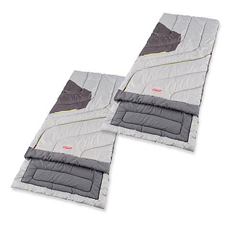 coleman adjustable comfort sleeping bag coleman 174 adjustable comfort sleeping bags bed bath beyond