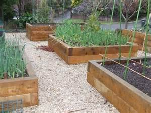 How To Lay Decking On Soil by Raised Garden Beds Photos And Ideas