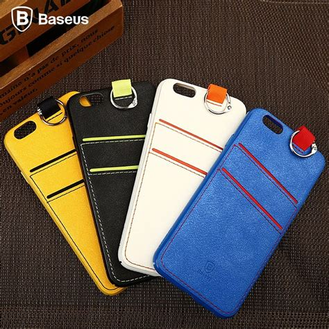 Your information lives on your iphone, beautifully laid out and easy to understand. For Apple iPhone 6s/6s Plus Hybrid Card Slot Holder Lanyard Hard Case With Strap   eBay