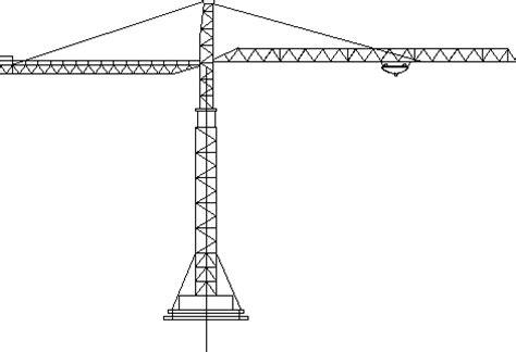crane elevation dwg elevation  autocad designs cad