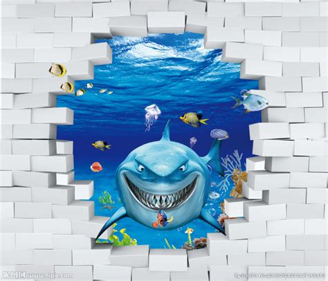 大型3D壁纸设计图__PSD分层素材_PSD分层素材_设计图库_昵图网nipic.com