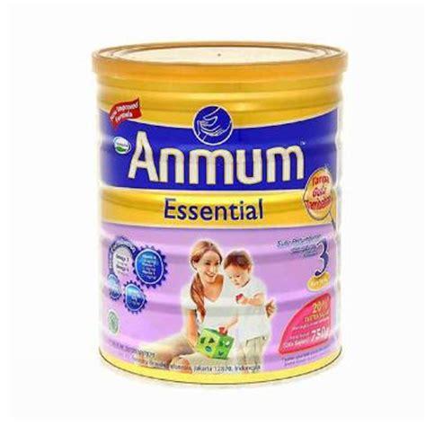 anmum essential 3 rasa vanila jual nutrisi formula makanan bayi harga murah