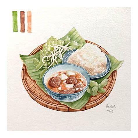 bun cha ha noi version  grilled pork  rice noodles