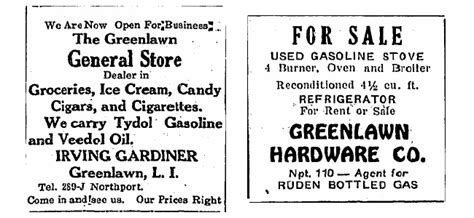history greenlawn hardware long island