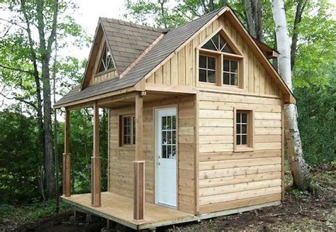 chalet plans with loft this micro cabin has a 12 x 12 footprint but is considered 100 sq ft for permitting