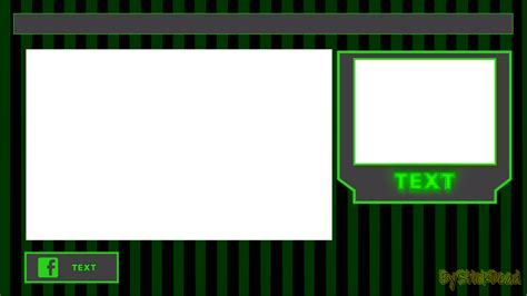 obs templates overlay for obs twitch by bystickdead on deviantart