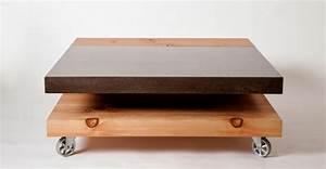 Couchtisch Aus Beton : couchtisch aus beton eine extravagante idee ~ Indierocktalk.com Haus und Dekorationen