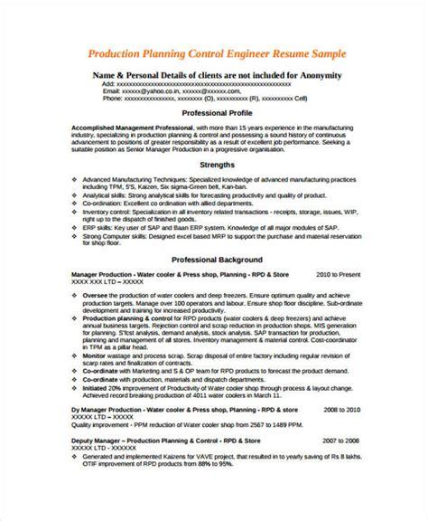 engineer resume samples    premium