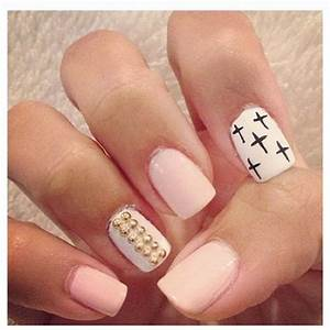 Cute Acrylic Nails With Crosses   www.imgkid.com - The ...