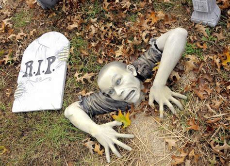 Halloween Party Deko Im Garten  Tolle Atmosphäre Im