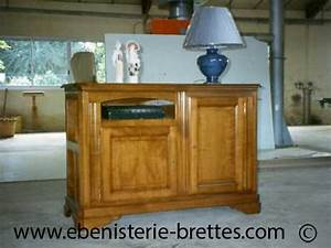 meuble tv bois style ancien solutions pour la decoration With meubles de style ancien