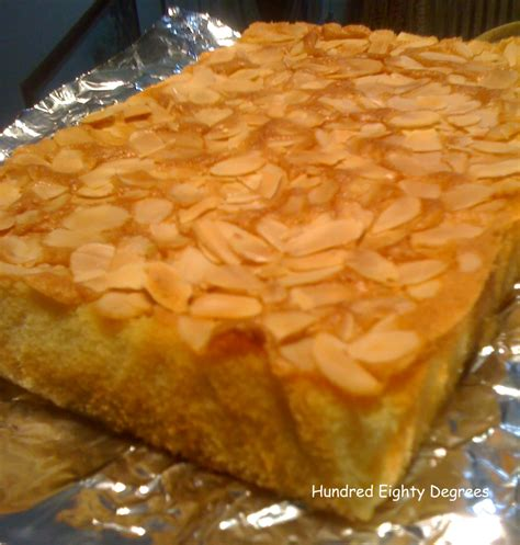 french almond cake   degrees