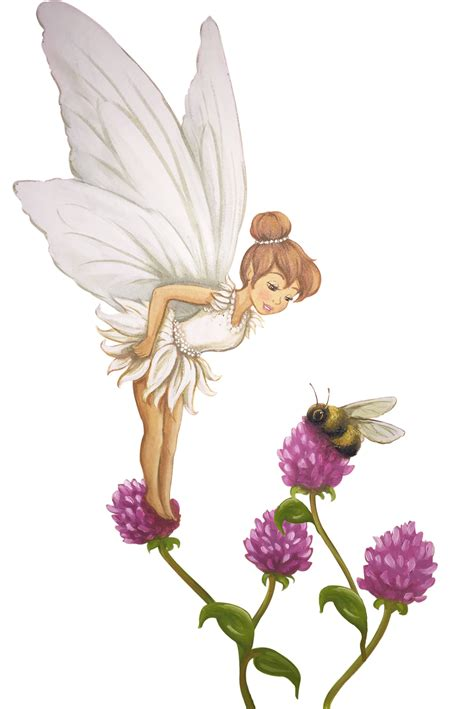 fairy wall sticker violet wall decal room sets