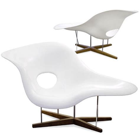 eams chaise vitra miniature la chaise chair by charles and eames