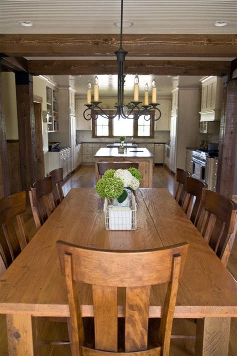rustic dining chairs modernity of rustic kitchen table a rustic big family