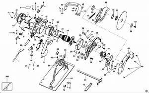 Dewalt D23650 Type 1 Circular Saw Spare Parts