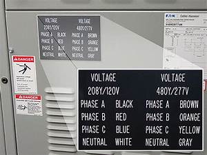 labeling multiwire branch circuit dangers and more With electrical panel voltage labels