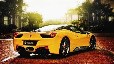 ferrari yellow super yellow ferrari hd wallpaper hd hd ferrari car