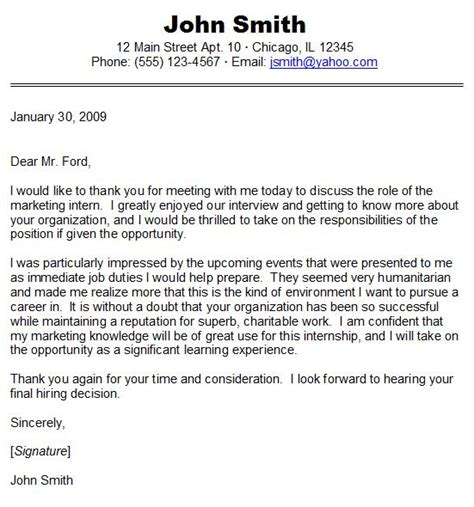 Thank You For Responding To My Resume by Sle Thank You Letter Crna Cover Letter
