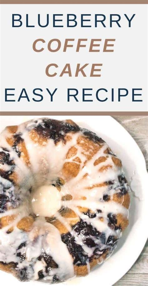 This blueberry coffee cake recipe has two components: Blueberry Sour Cream Coffee Cake   Recipe   Blueberry recipes, Sour cream coffee cake, Blueberry ...