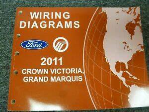 2011 Ford Crown Victoria Electrical Wiring Diagram Manual