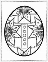 Easter Coloring Eggs Egg Printable sketch template