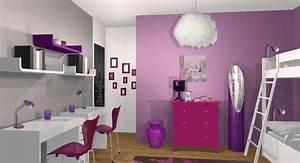 Chambre Fille 8 Ans : decoration chambre filles 11 ans visuel 8 ~ Teatrodelosmanantiales.com Idées de Décoration