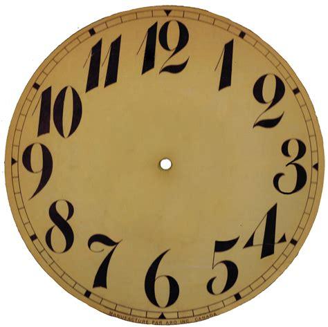 farewell    vintage clock face printable