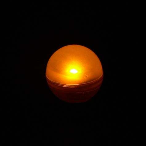 orange fairy berry floating led light