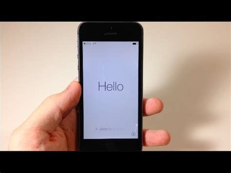 how to set up voicemail on iphone 5s at t how to set up your new iphone 5s