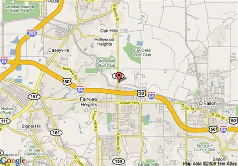 Japanese Gardens Rockford by Map Of Four Points By Sheraton Fairview Heights O Fallon