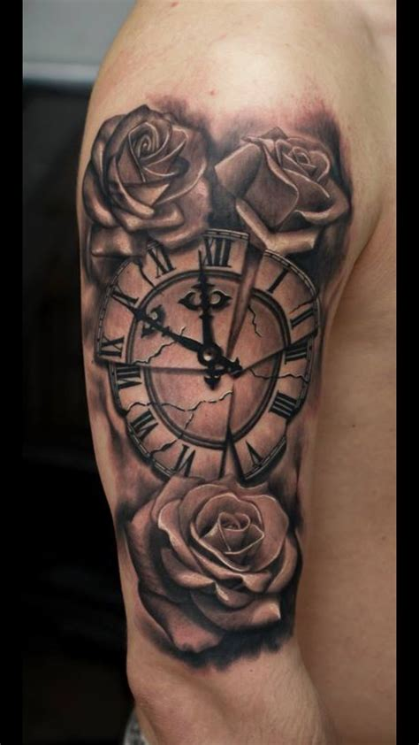 time  roses tattoo work portfolio tattoo vorlagen tattoos unterarm vorlagen