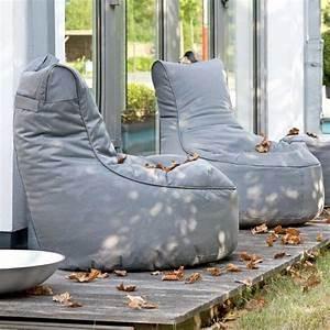 wetterfeste sitzsack lounge fur verlangerte sommer With französischer balkon mit garten sitzsack
