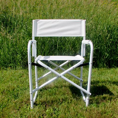 all aluminum standard directors chair by e z up