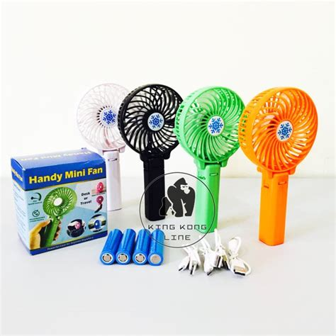 Kipas Angin Mini By Vhivhishop jual handy mini fan kipas angin tangan mini rechargeable
