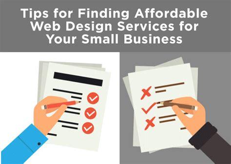 affordable website design tips for finding affordable web design services big