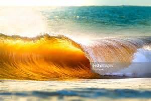 Breaking Ocean Waves Sunset