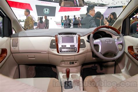 toyota innova special edition dashboard view at the