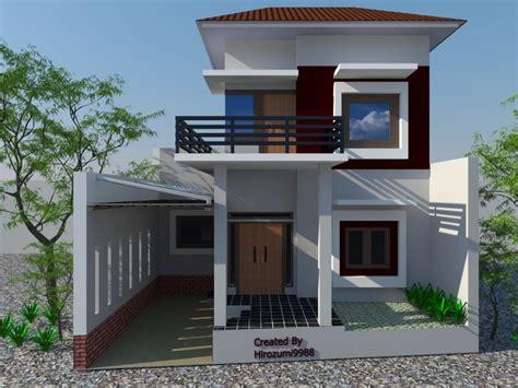 gambar denah rumah  lantai minimalis design arsitektur