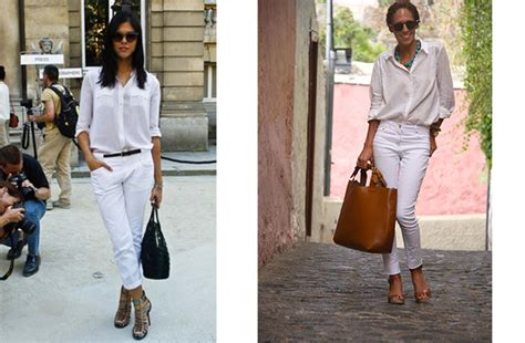 Comment Porter Le Total Look Blanc ?
