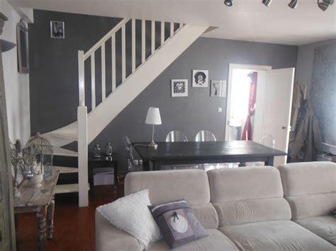 decoration peinture salon salle manger d 233 coration peinture gris et blanc salon salle a manger