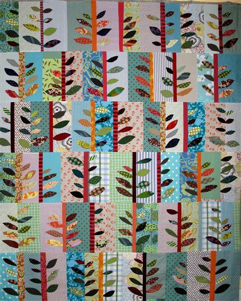 Applique Quilting by Applique Leaves Quilt Quilts Pyssel