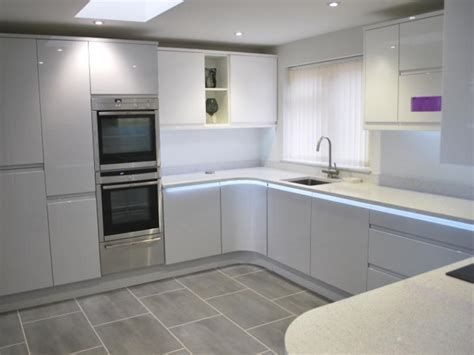 grey floor white kitchen remo dove grey white kitchens by 4062