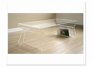 lucite coffee table brightens your interior With wayfair acrylic coffee table