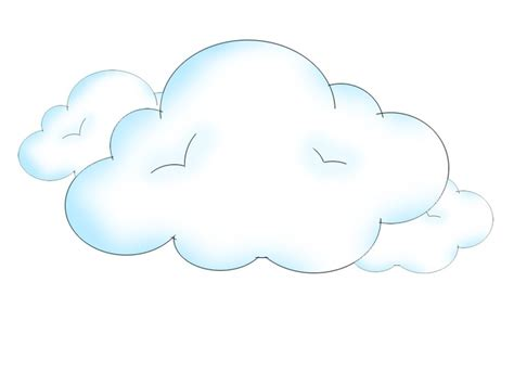 drawn clouds easy pencil   color drawn clouds easy